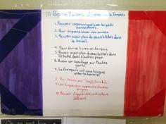 Las 10 buenas razones de un estudiante para aprender francés