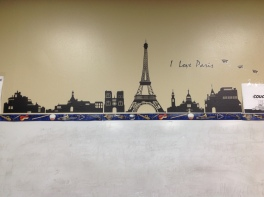 Pegatina mural comprada en eBay