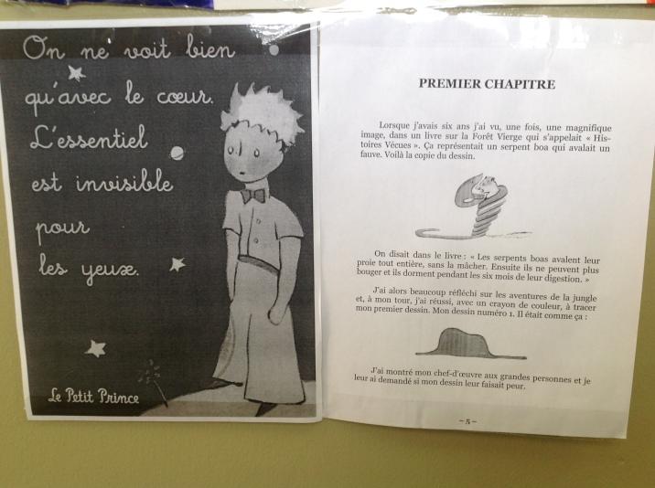 Le petit prince: inicio y frase más popular